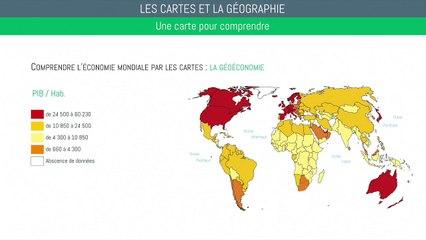 Bac géographie - La cartographie : Méthodologie