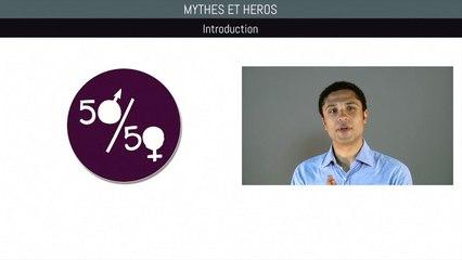 Bac anglais - Mythes et héros