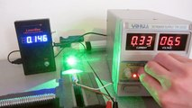 Homemade Powerful 520nm Green Laser Torch + Diode Torture Test!!!