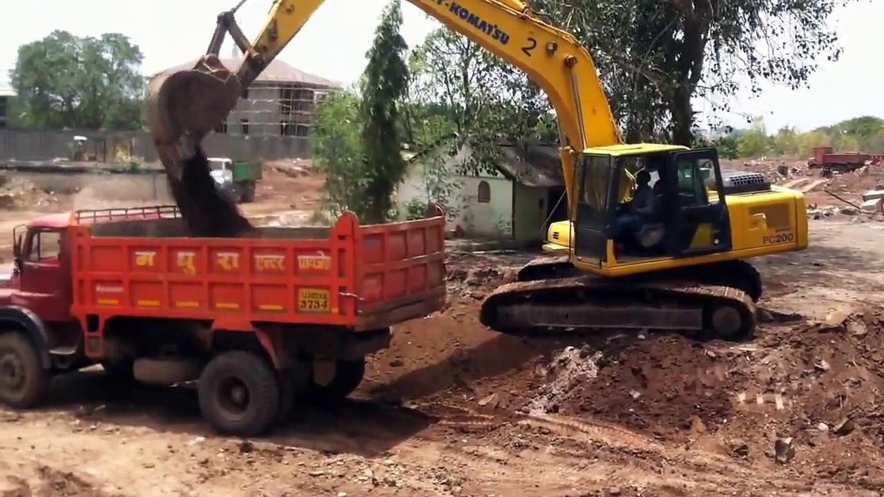 Construction Trucks For Children, Monster Trucks, Construction Trucks At Work #3 by JeannetChannel