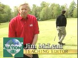 Tiger Woods stinger shot, Jim McLean Golf Tip, 9 Iron In Wind