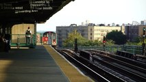241st Street Bound R142 5 Train @ Pelham Parkway