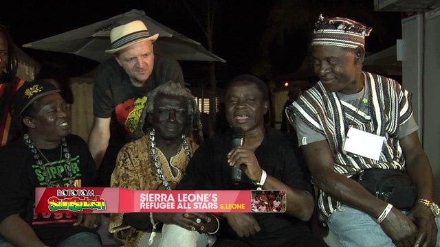 SIERRA LEONE'S REFUGEE ALL STARS jingle @ Rototom Sunsplash 2015