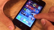 Change the Dock Background from Translucent to Transparent in iOS 7 for iPhone [How-To]