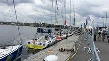 Les voiliers du Tour de Bretagne sont arrivés