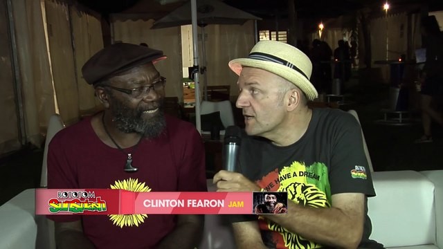 CLINTON FEARON interview @ Rototom Sunsplash 2015