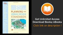 Books Planning and Urban Design Standards Free Online