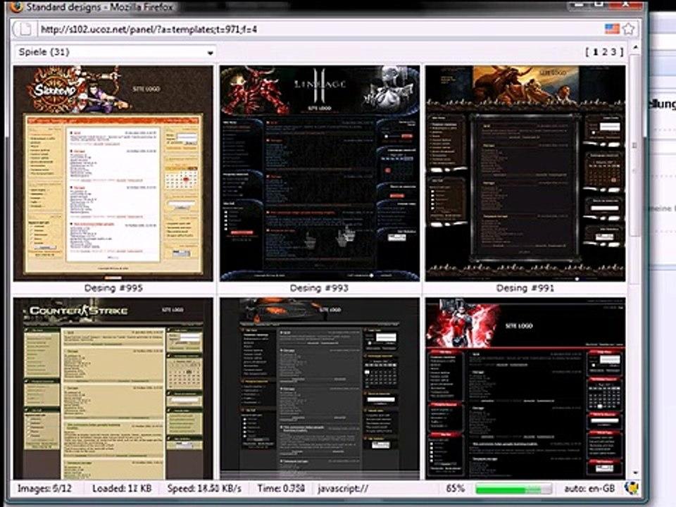 Clan Homepage Erstellen