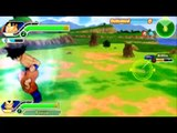 DBZ Tag Team psp Gameplay-FUSION