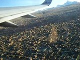 Take-off from La Paz, Bolivia / Despegue de La Paz, Bolivia, in a Boeing 757 - AA Flight 992