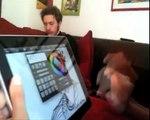 Apple iPad: dimostrazioni pratiche su SketchBook Pro, per creare magnifici ritratti