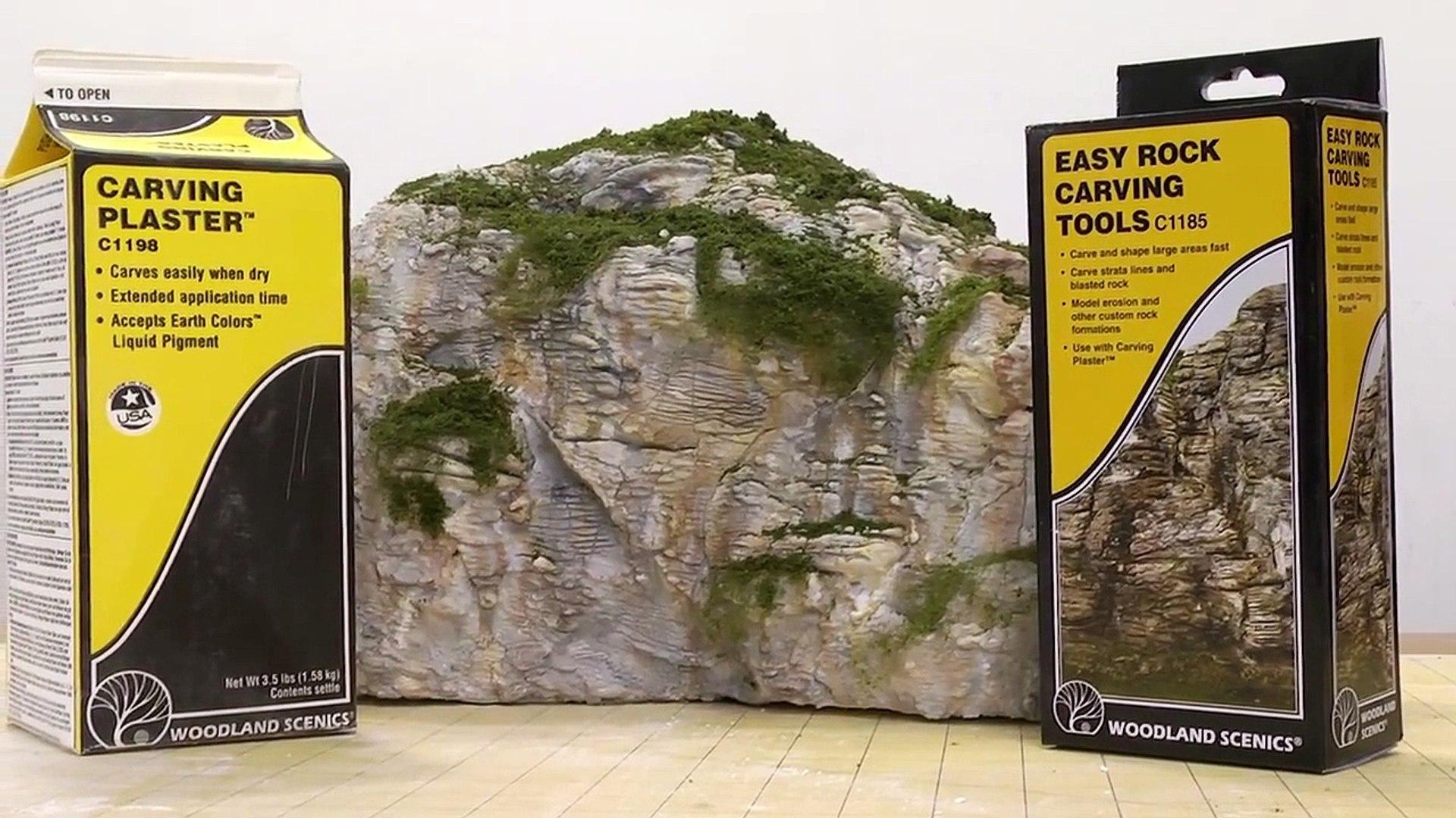 Woodland Scenics C1185 Easy Rock Carving Tools