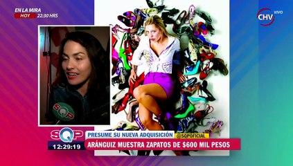 Daniela Aránguiz presume adquisición de costosos zapatos - SQP