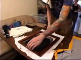 How To Stencil Screen Print T Shirts (5-6)