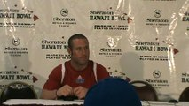 2009 Hawaii Bowl - Postgame with Chase Kennemer and June Jones