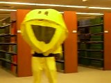Pac man in Swem Library 10-10-2006