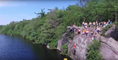 Drone Captures New Jersey Cliff Jumping Footage