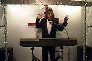 NORWEGIAN WOOD The Beatles Live cover by Eduardo singing piano player Entertainer