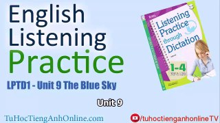 English Listening Practice Unit 9 The Blue Sky