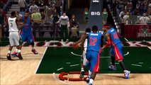 Insane Nba 2K14 Dunks and Blocks Compilation #1 (Short)