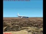 Flight Simulator 2002 Landing by Harish