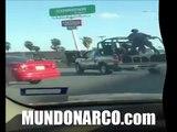 Video de la Balaceras y bloqueos en Matamoros, Tamaulipas