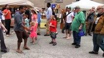 Flash Mob!!!  Capital City Farmers' Market Montpelier, Vermont - 6/21/2014 - Vermont Flash Mob!