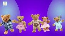 The Teddy Bear Finger Family | Teddy Bear Cartoon Finger Family Nursery Rhyme Song | Kids Toy Songs