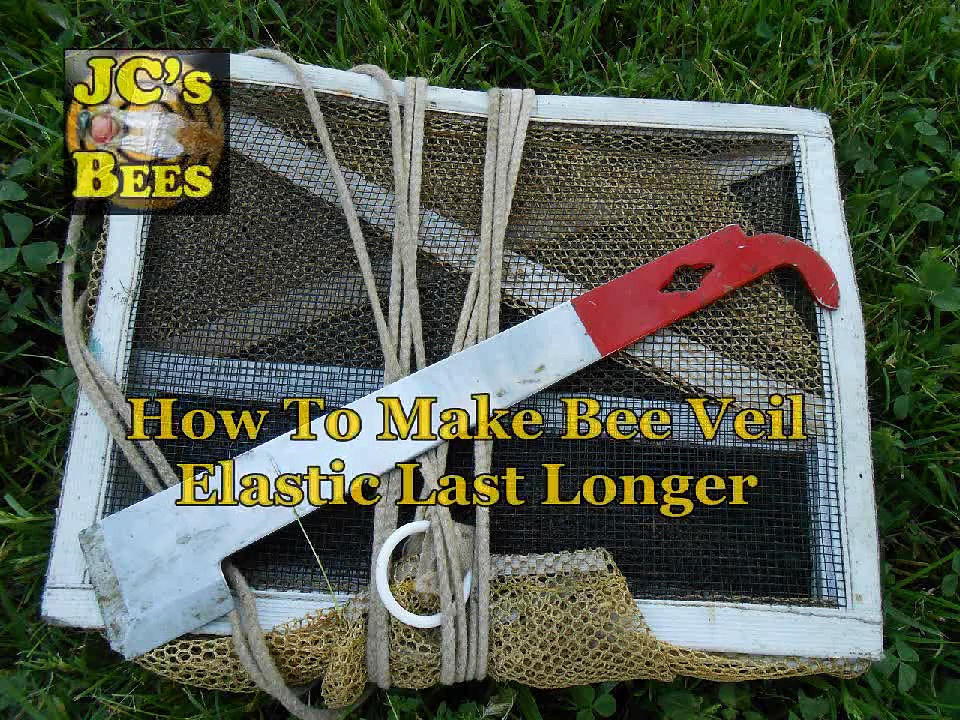 Making Beekeeping Veil Elastic Last Longer