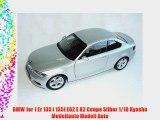 BMW 1er 1 Er 135 i 135i E82 E 82 Coupe Silber 1/18 Kyosho Modellauto Modell Auto