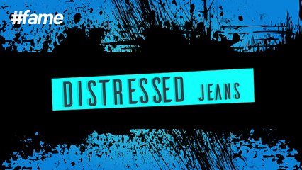 How to Turn Old Jeans to Distressed Pair of Denims   #LakmeSchoolofStyle