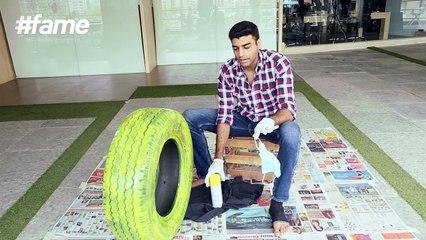 DIY Tyre Reivented   #LakmeSchoolofStyle
