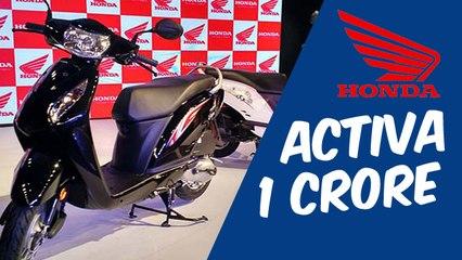 Honda Activa drives past 1-crore sales milestone
