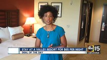 Stay at Valley resort for $65 per night