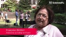 Françoise Heritier invitée à Sciences Po par PRESAGE