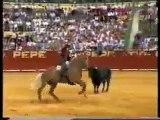 Pablo Hermoso y Merlin el mejor caballo de rejoneo de todos los tiempos.
