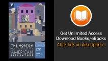 PDF Download The Norton Anthology of American Literature Vol