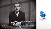 Alain Peyrefitte : création de la television regionale en Champagne-Ardenne