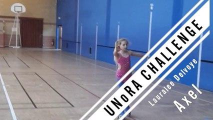 UNoRA Challenge - 9 Axel - Lauralee Delvoye