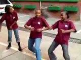 South African Girls Dancing