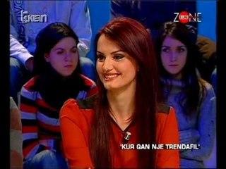 DENISA BUDINI në 'Zonë e lirë' 27.01.2012