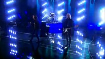 3 Shades of Blue Pop Rock Band Covers Chains by Nick Jonas Americas Got Talent 2015