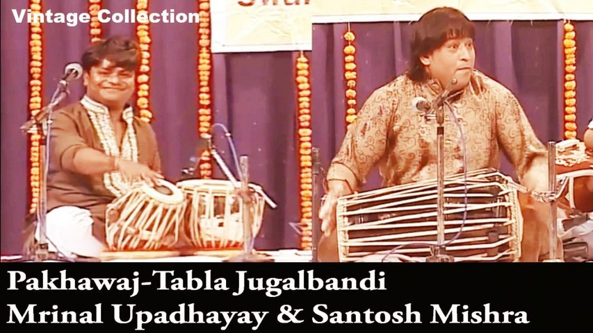 Mrinal Upadhayay, Santosh Mishra - Indian Classical Music   Pakhawaj-Tabla Jugalbandi   Instrumental