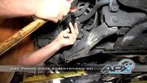 How to install front struts on a Kia Sorento 2006, 2005, 2004, 2003