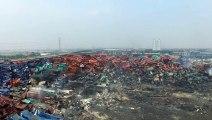 Explosion de Tianjin : Greenpeace dévoile de nouvelles images filmées par drone