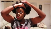 Back To School Quick Heatless Hairstyles on Natural Hair