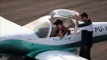 Brasil y Paraguay lanzan primer avión eléctrico