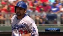 HomeRun (22) de Adrian Gonzalez de Dodgers de Los Angeles