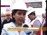 Nidia Vilchez - Ministros supervisan avances del nuevo Instituto Nacional del Niño