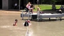 Adaptive Water Skiing for People with Disabilities